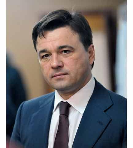 временно исполняющий обязанности Губернатора Московской области А.Ю. Воробьёв